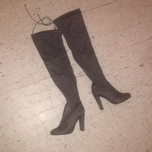 Shoes - Never wore thigh heel boots